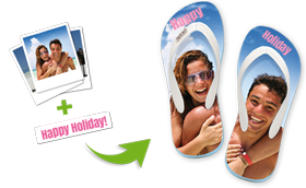 design your own custom flip flops